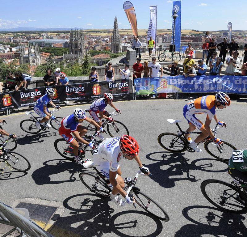 Burgos acogerá una etapa de la Vuelta a Burgos que saldrá del Fórum y finalizará en El Castillo