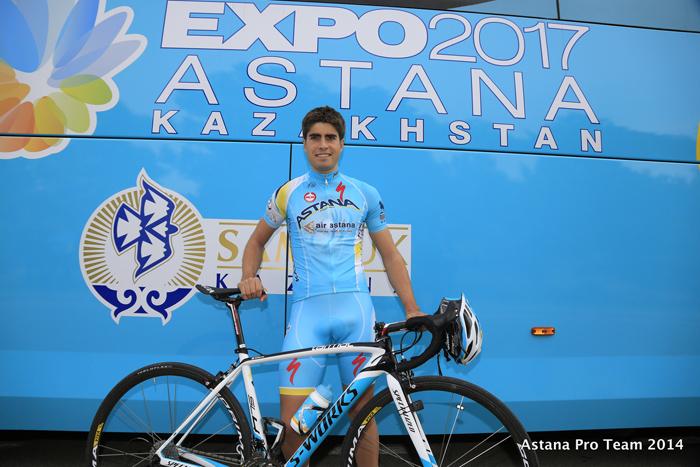 Mikel Landa liderará a Astana en la Vuelta a Burgos