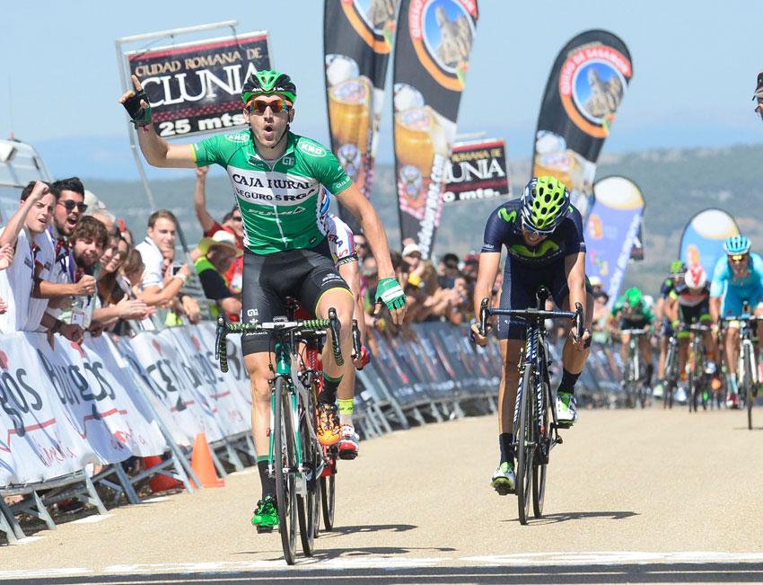 Barbero, primer líder de la Vuelta