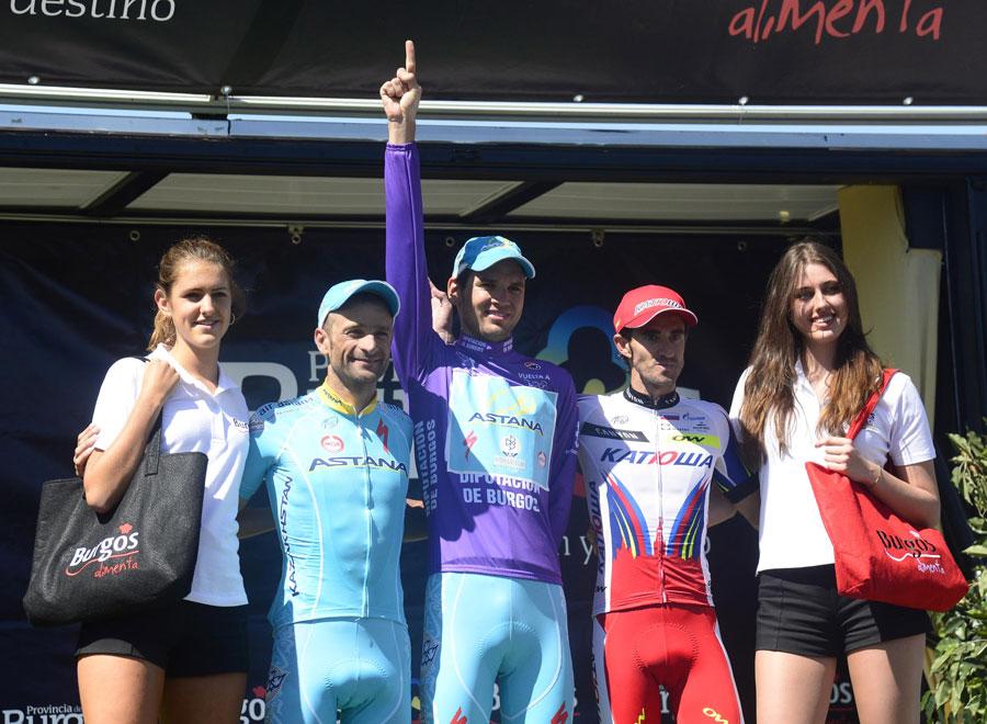 Dani Moreno gana en Neila y Rein Taaramäe se lleva la Vuelta