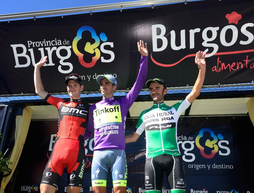 Contador conquista la Vuelta a Burgos por un segundo