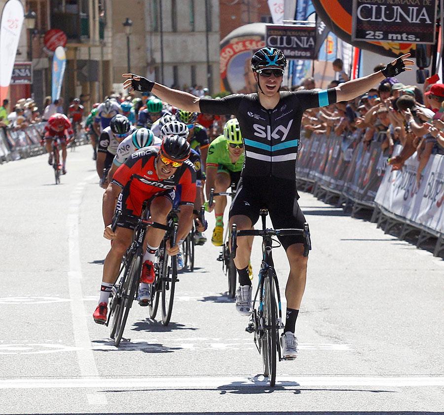 Danny Van Poppel gana al sprint en la Vuelta a Burgos