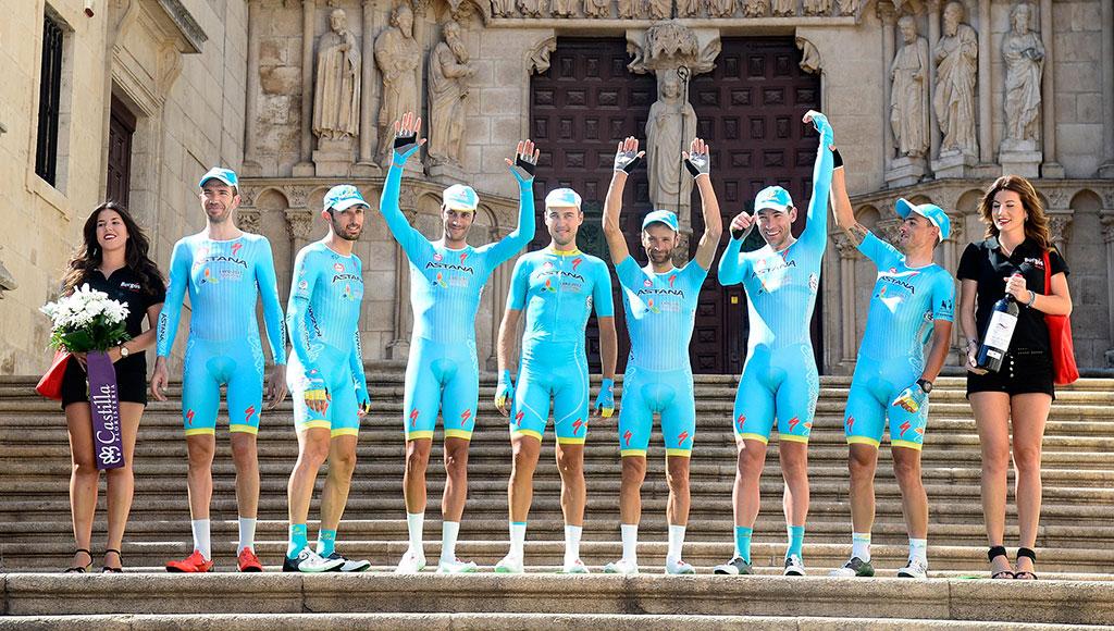 Astana se apodera de la Vuelta a Burgos