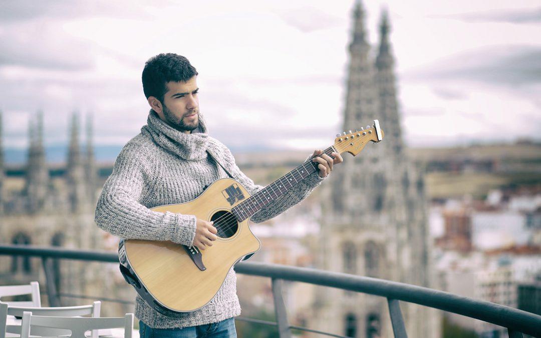 Daniel Guantes pone letra y música a la Vuelta a Burgos