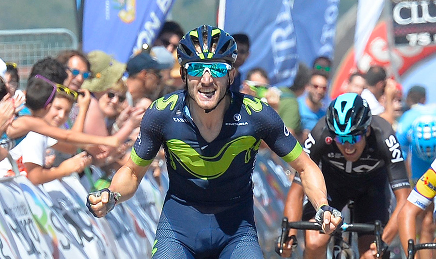 Igor Antón y Winner Anacona, líderes de Dimension Data y Movistar