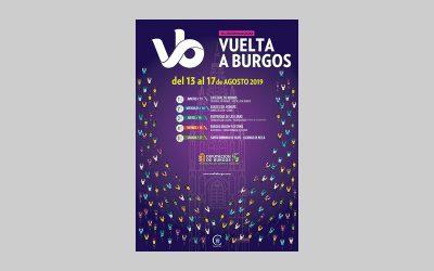 La Vuelta a Burgos proyecta en su cartel la Catedral de Burgos