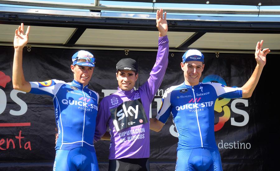 Mikel Landa, ganador de 2017, será uno de los favoritos al triunfo final en la Vuelta a Burgos