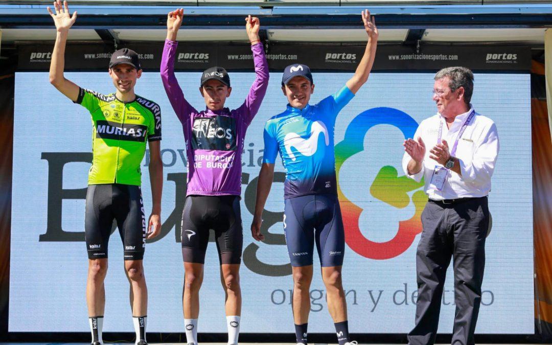 Podio final de la Vuelta a Burgos