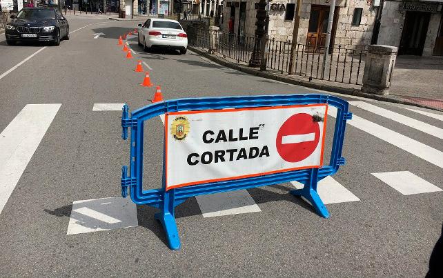 Restricciones de tráfico en la ciudad de Burgos el martes 13 de agosto