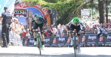 Nizzolo gana el pulso a Aranburu en el Mirador del Castillo