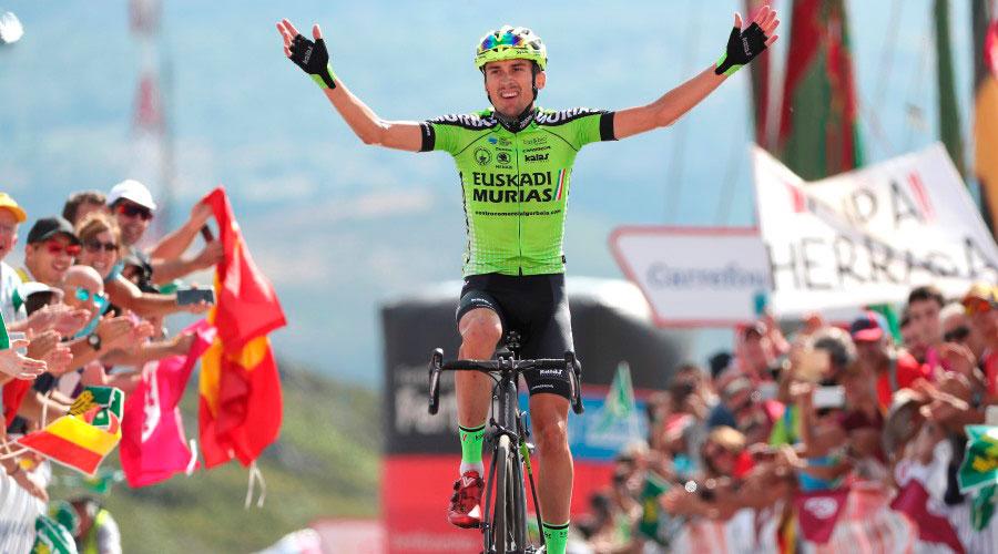 Óscar Rodríguez, vencedor en la Camperona en 2018, correrá la Vuelta a Burgos