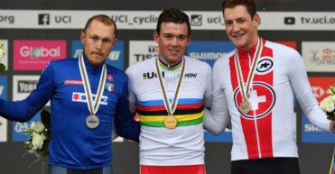 El maillot arcoiris de Mads Pedersen lucirá en la XLII Vuelta a Burgos