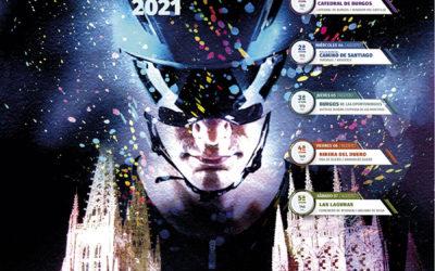 Cartel oficial de la XLIII Vuelta a Burgos