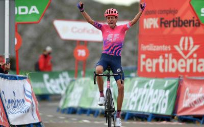 Hugh Carthy, tercero en la Vuelta 2020, del EF Education-Nippo, confirma su inscripción para la XLIII Vuelta a Burgos