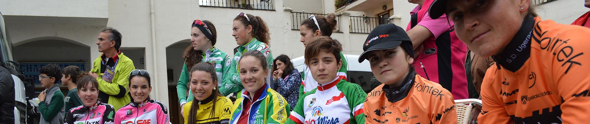 Foto de la I Vuelta a Burgos Féminas
