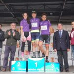 Las tres vencedoras de la Vuelta Féminas 2018