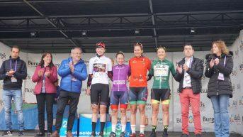 Lourdes Oyarbide gana la última etapa de la Vuelta a Burgos y Stine Borgli la general