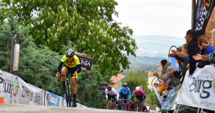 Soraya Paladín entrando en meta. Foto de Daniel Peña.