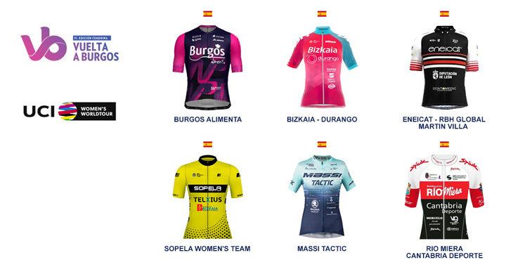 Equipos continentales españoles